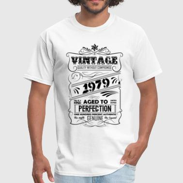 Vintage Aged To Perfection 1979 - Men's T-Shirt