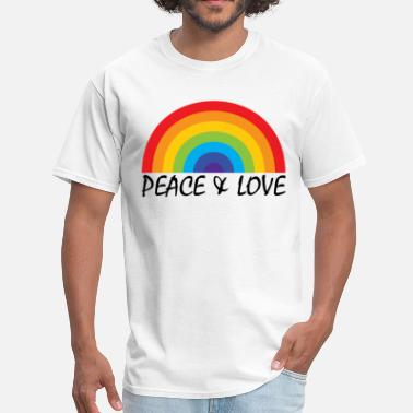 Peace And Love Peace & Love - Men's T-Shirt