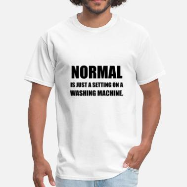Normal Setting On Washing - Men's T-Shirt