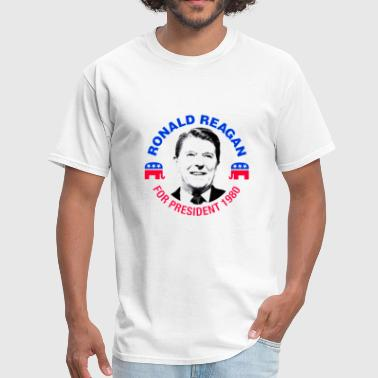 Ronald Reagan for President Campaign 80's - Men's T-Shirt