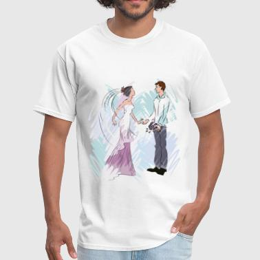 Newlyweds - Men's T-Shirt