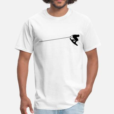 Wakeboarding wakeboarder - Men's T-Shirt
