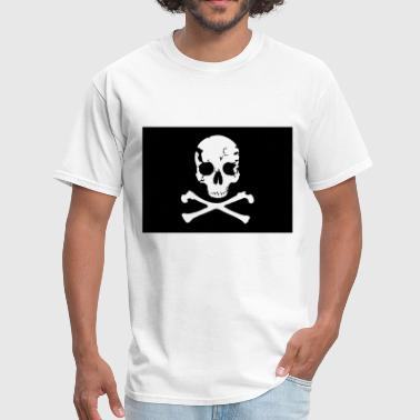 Pirate, Pirat Flag - Men's T-Shirt