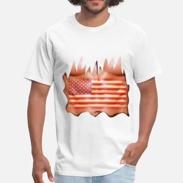 Torn Apart usa sixpack - Men's T-Shirt