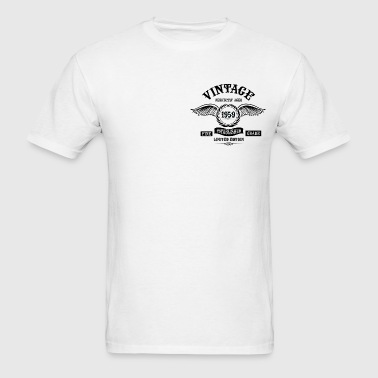 Vintage Perfectly Aged 1959 - Men's T-Shirt