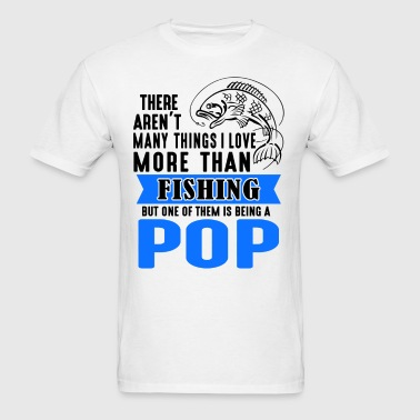 Fishing Pop - Men's T-Shirt