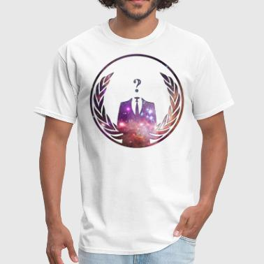Anonymous in Space - Men's T-Shirt