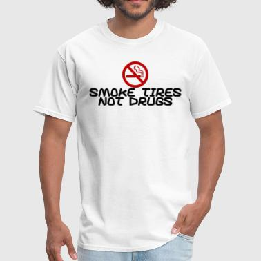 Smoke Tires - Men's T-Shirt