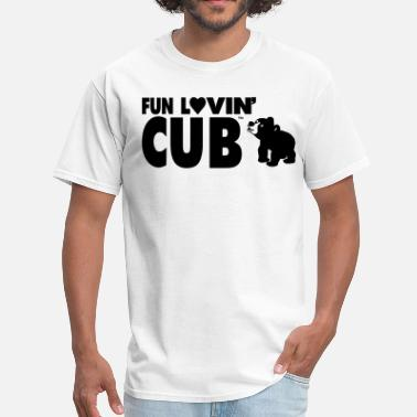 Fuck Cubs FUN LOVING CUB - Men's T-Shirt