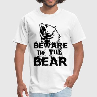 Pch Beware Of The Bear - Men's T-Shirt