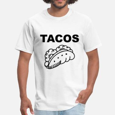 Love Tacos The Perfect Taco, Tacos for Love - Men's T-Shirt