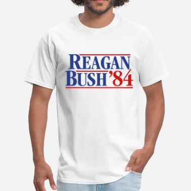 Election Campaign Reagan - Bush '84 campaign - Men's T-Shirt