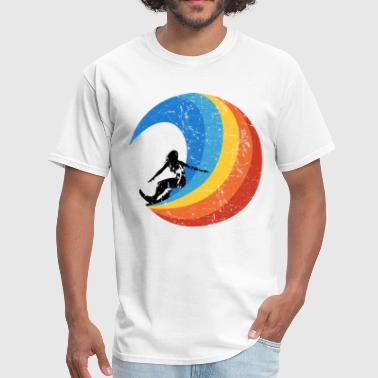 Surf Club Surfer Girl Vintage Style Wave surf - Men's T-Shirt