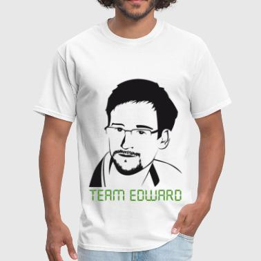 Team Edward Snowden Edward Snowden: Team Snowden - Men's T-Shirt