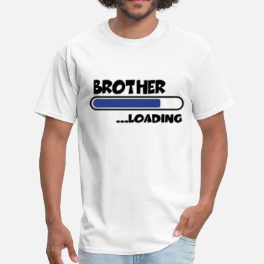 Brothers Brother loading - Men's T-Shirt