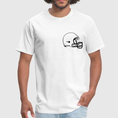 Football Helmet HD Design - Men's T-Shirt