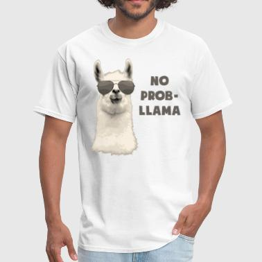 No Problem Llama - Men's T-Shirt