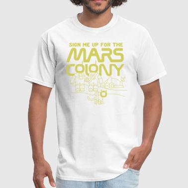 Marshall Sign Me Colony - Men's T-Shirt