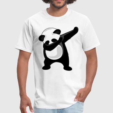 Dance Team Dabbing Panda Giant Panda Bear Dab Dance Tee dance - Men's T-Shirt