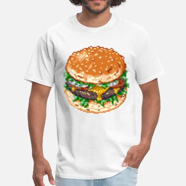 Pixel Burger - Men's T-Shirt