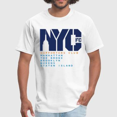 NYCFC Shirt Basic - Men's T-Shirt