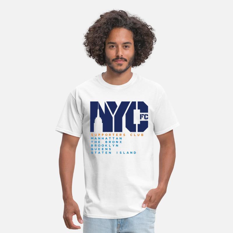 0a345fbf3 Nycfc T-Shirts - NYCFC Shirt Basic - Men s T-Shirt white