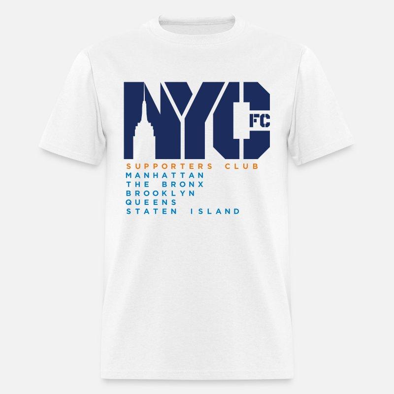 a5a0303b6 NYCFC Shirt Basic Men s T-Shirt