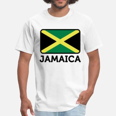 Jamaica Kids Flag Jamaica 2 (3c)++ - Men's T-Shirt