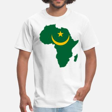 Mauritania Mauritania Flag In Africa - Men's T-Shirt