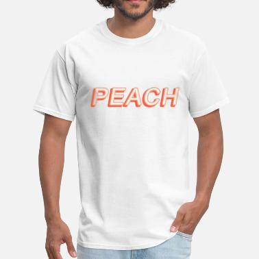 Peach Coloring PEACH - Men's T-Shirt