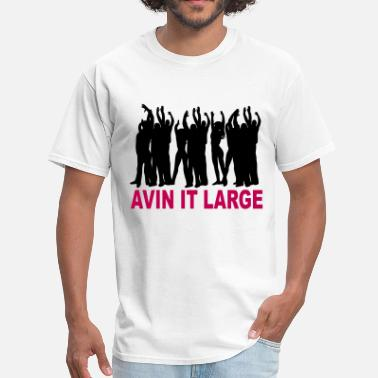 Avin Avin It Large Coloured Logo - Men's T-Shirt
