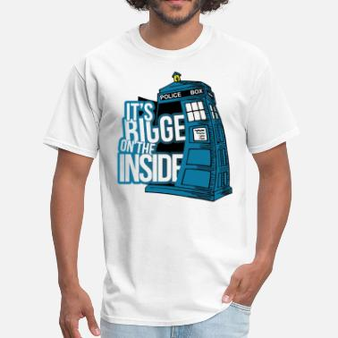 Bigger On The Inside It;s Bigger On The Inside - Men's T-Shirt
