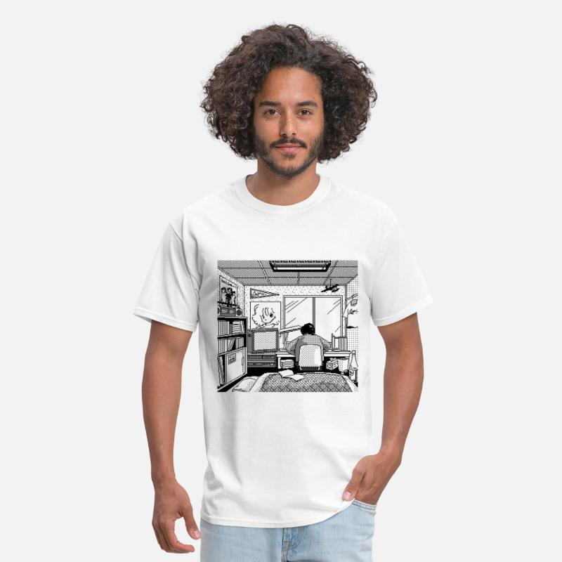 Geek T-Shirts - Working - Men's T-Shirt white