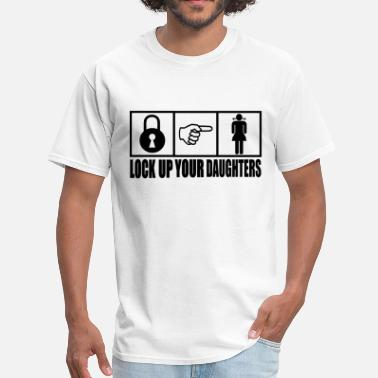 Slade Lock Up Your Daughters Vector Design - Men's T-Shirt