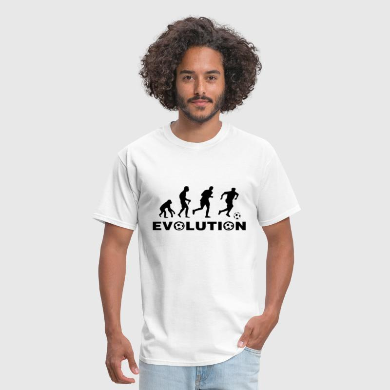 Evolution of Soccer - Men's T-Shirt