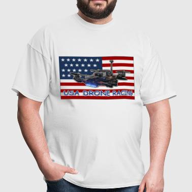USA Drone Racing - Men's T-Shirt