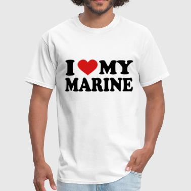 Love My Marine I Love My marine - Men's T-Shirt