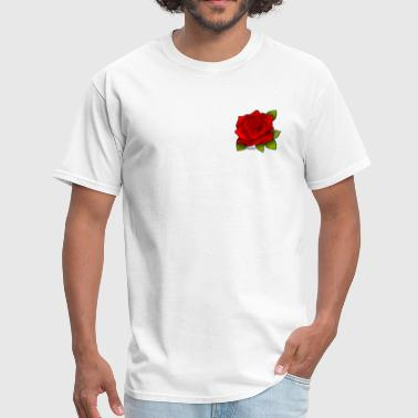 Red rose - Men's T-Shirt