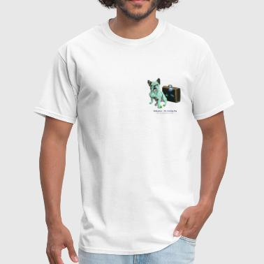 Bully Green - The Traveling Dog - Men's T-Shirt