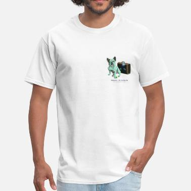 Bully Dog Bully Green - The Traveling Dog - Men's T-Shirt