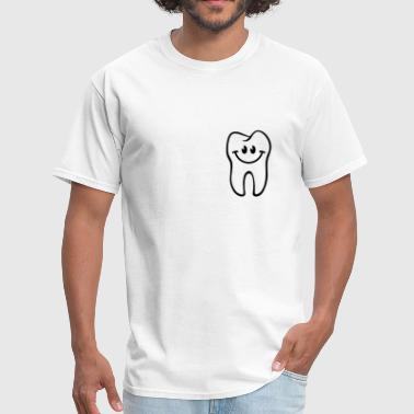 Dental Tooth- / Dent- / Diente- / Dente- / Zahn-Smiley - Men's T-Shirt