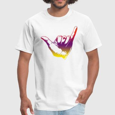 finger hang loose - Men's T-Shirt