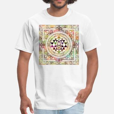 Sri Yantra Colorful Sri Yantra  / Sri Chakra - Men's T-Shirt