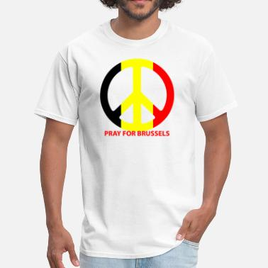Brussels Pray For Brussels - Men's T-Shirt