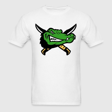 Alligator Swords Logo - Men's T-Shirt