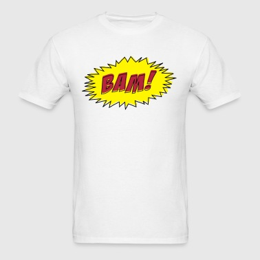 BAM! (Cartoon Comic style) - Men's T-Shirt