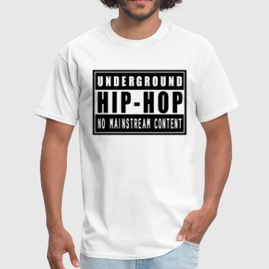 Underground Hip-Hop flex - Men's T-Shirt