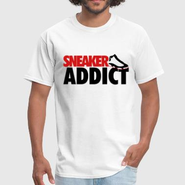 Game sneaker addict he got game - Men's T-Shirt