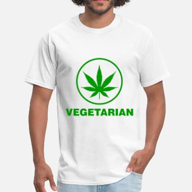 Vegetarian THC vegetarian - Men's T-Shirt