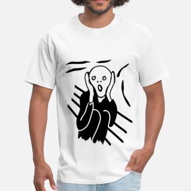 The Scream The Scream - Men's T-Shirt